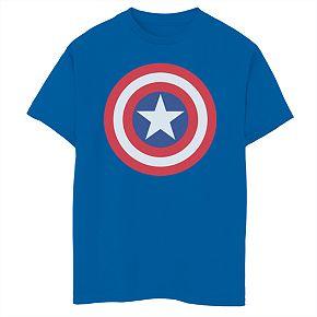 Boys' 8-20 Marvel Avengers Shield Graphic Tee