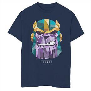 Boys' 8-20 Marvel Thanos Poly Graphic Tee