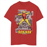 Boys' 8-20 Marvel Comic Iron Man Graphic Tee