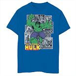 Boys' 8-20 Marvel Comic Hulk Graphic Tee