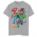 Boys' 8-20 Marvel Starters Graphic Tee