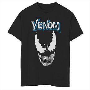 Boys' 8-20 Marvel Venom Crest Graphic Tee