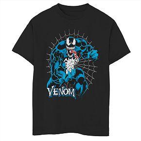 Boys' 8-20 Marvel Venom Tangled Graphic Tee