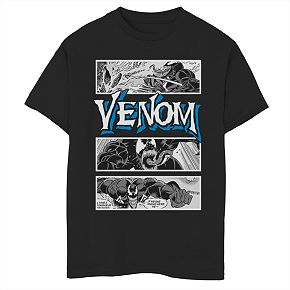 Boys' 8-20 Marvel Venom Panel Graphic Tee