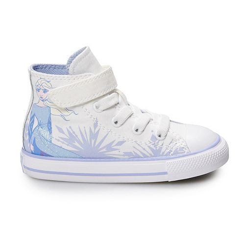 Toddler Girls' Converse Chuck Taylor All Star Disney's Frozen 2 Elsa High Top Shoes