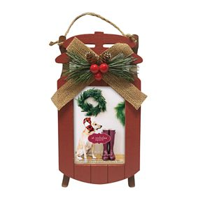 St. Nicholas Square® Sled Holiday Frame