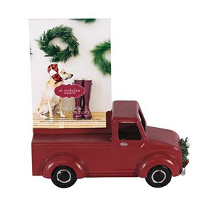 St. Nicholas Square® Red Truck Holiday Photo Holder