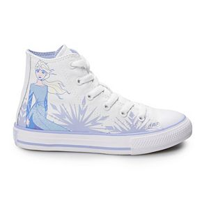Girls' Converse Chuck Taylor All Star Disney's Frozen 2 Elsa High Top Shoes