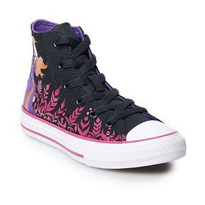 Girls' Converse Chuck Taylor All Star Disney's Frozen 2 Anna High Top Shoes