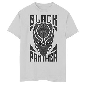 Boys' 8-20 Marvel Avengers Panther Stamp Graphic Tee