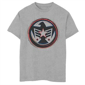Boys' 8-20 Marvel Now Falcon America Graphic Tee