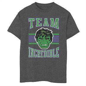 Boys' 8-20 Marvel Team Incredible Graphic Tee