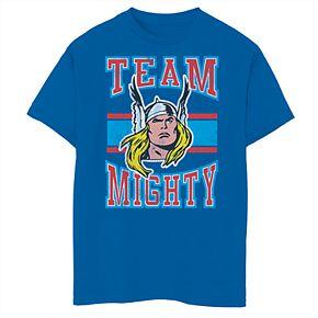 Boys' 8-20 Marvel Team Mighty Graphic Tee