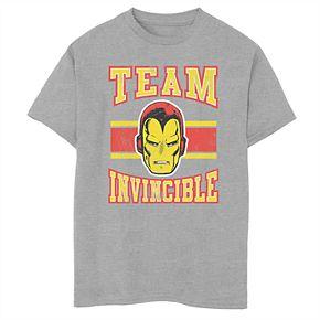 Boys' 8-20 Marvel Team Invincible Graphic Tee