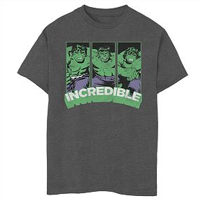 Boys' 8-20 Marvel Super Incredible Graphic Tee