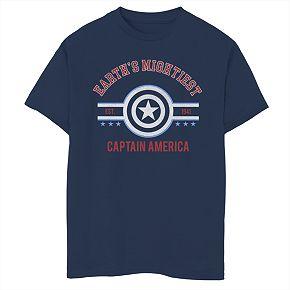 Boys' 8-20 Marvel Avengers Mighty Captain Graphic Tee