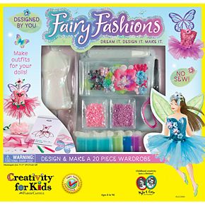 Creativity For Kids Fairy Fashions Art Activity