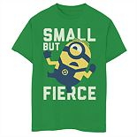 Boys 8-20 Minions Small But Fierce Tee