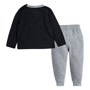 Toddler Boy Hurley Logo Tee & Jogger Pants Set