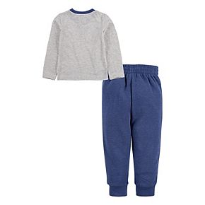 Toddler Boys 2T-4T Hurley Icon Logo T-Shirt and Jogger Pants 2-Piece Set