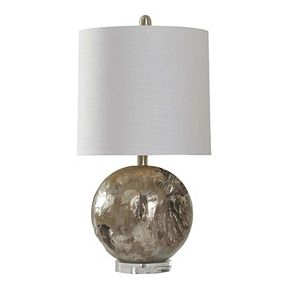 Unbranded Platinum Fossil Table Lamp