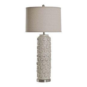 Unbranded Ceramic Bella Cream Table Lamp