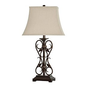 Unbranded Alhandra Dark Bronze Table Lamp