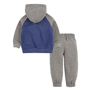 Toddler Boys 2T-4T Hurley Zip-Up Hoodie and Pants 2-Piece Set