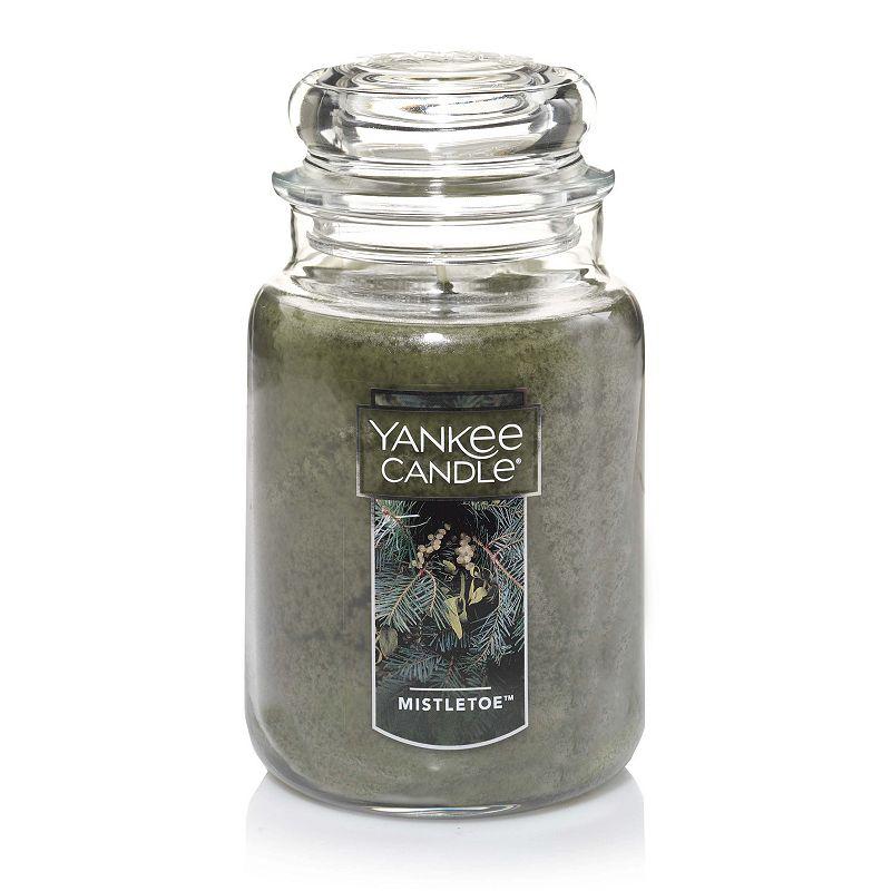 Yankee Candle Mistletoe 22-oz. Large Candle Jar