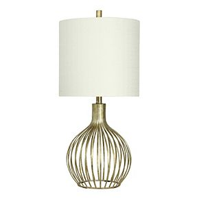 Table Lamp Vintage Gold Finish