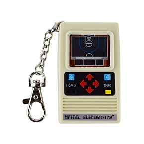 World's Coolest Mattel Electronic Games Basketball Keychain