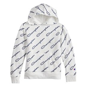 Boys 8-20 Champion All-Over Print Fleece Pull-Over Hoodie