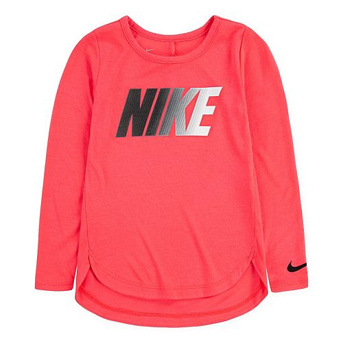 Toddler Girls 2T-4T Nike Keyhole High-Low Tunic Top