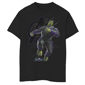 Boys 8-20 Marvel Incredible Hulk Particles Tee