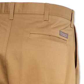 Men's Lee Relaxed-Fit Stain Resist Pleated Pants
