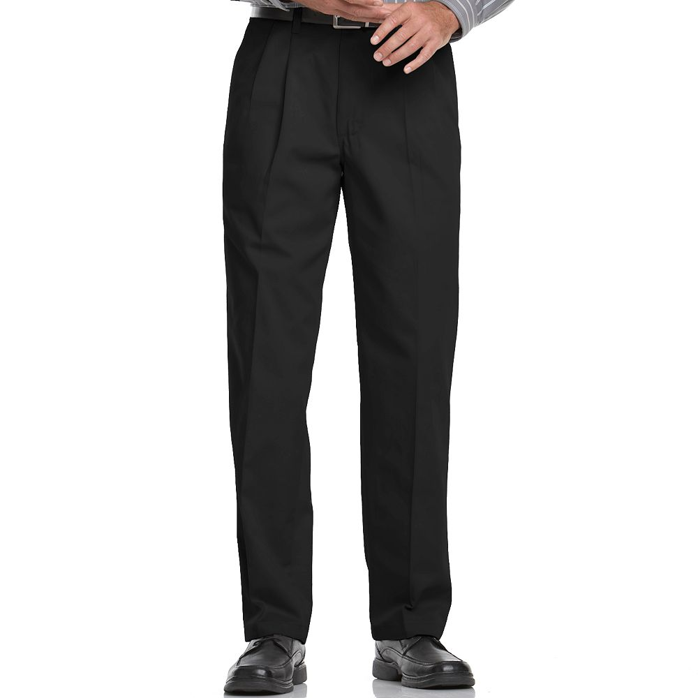 2fe0d434 Men's Lee Relaxed-Fit Stain Resist Pleated Pants