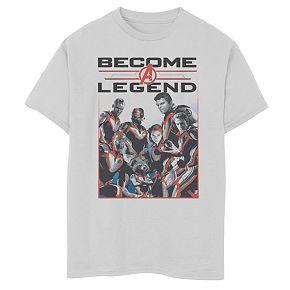 Boys 8-20 Boys Marvel Legendary Group Tee