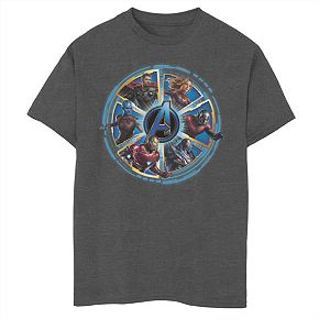 Boys 8-20 Marvel Circle of Heroes Tee