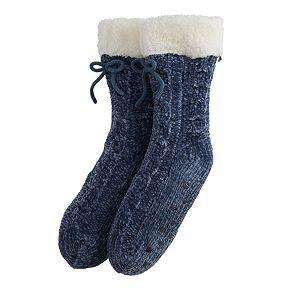 Women's LC Lauren Conrad Sherpa-Lined Slipper Socks