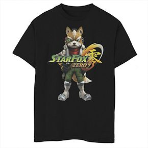 Boys 8-20 Nintendo Star Fox Tee