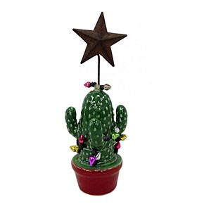 St. Nicholas Square® Cactus Christmas Clip Holder