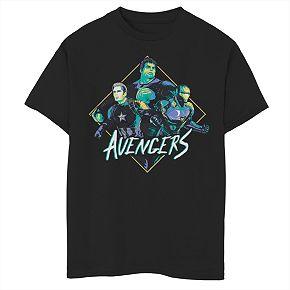 Boys 8-20 Marvel Avengers Rad Trio Tee