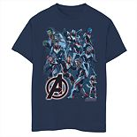 Boys 8-20 Marvel Avengers Suit Group Tee
