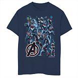 Boys 8-20 Marvel Avengers Suit Group Tee