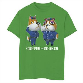 Boys 8-20 Nintendo Animal Crossing Copper Booker Tee
