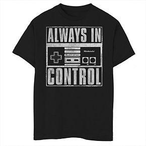 Boys 8-20 Nintendo Outta Control Tee