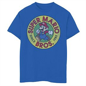 Boys' 8-20 Nintendo Super Mario Side Mario Graphic Tee