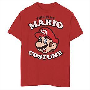 Boys' 8-20 Nintendo Super Mario Costume Graphic Tee