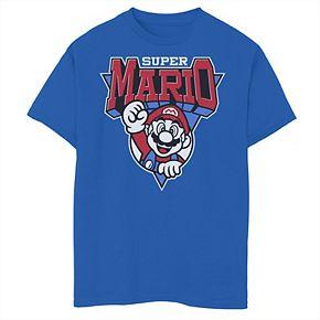 Boys' 8-20 Nintendo Super Mario Team Mario Graphic Tee