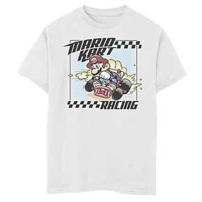 Boys' 8-20 Nintendo Mario Kart Race Hard Graphic Tee